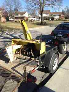 John Deere #47 2stage Snowblower