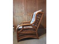 5 wicker conservatory style chairs - Free