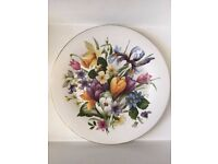 *FENTON CHINA?* FBC Spring Flower Bouquet 21cm Plate Beautiful English Country