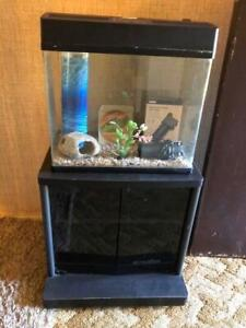 Complete Fish Tank Unit/Stand Accessories & Fish - Empty Ready To Go