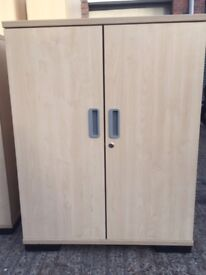 Two door cupboard in malpe with 2 adjustable shelves ideal for the office