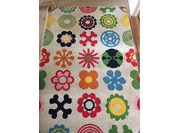 Lusy Blom colourful rug IKEA 133 x 195cm
