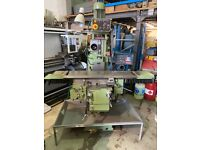 TOS FNK25A TURRET MILLING MACHINE YEAR 1995