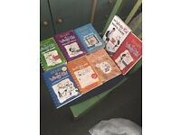 8 Wimpy Kid Books