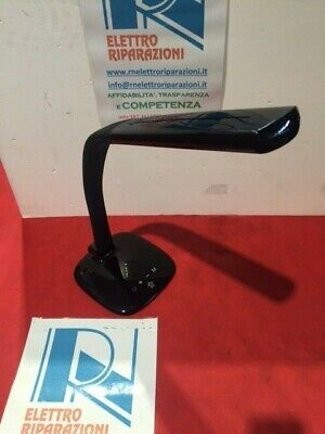 MEDIACOM Lampada LED DESK LAMP da tavolo con charger USB Nero M-LAMPUSBB