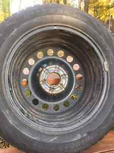 "17"" Steel Snow Tire Rims Cambridge Kitchener Area image 4"