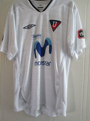 2005-2006 LDU Quito Home Football Shirt Size Medium/39311 Ecuador image