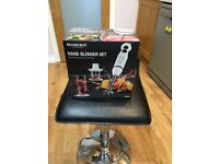 Hand held blender set - brand new