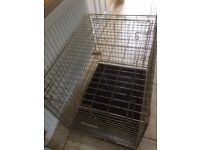 Dog cage or crate good condition-suit spaniel size dog