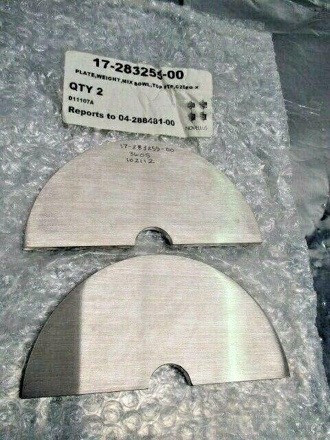 2 Novellus 17-283255-00 Plate, Weight, Mix Bowl, Top HTP, C2SEQ-X, 101392