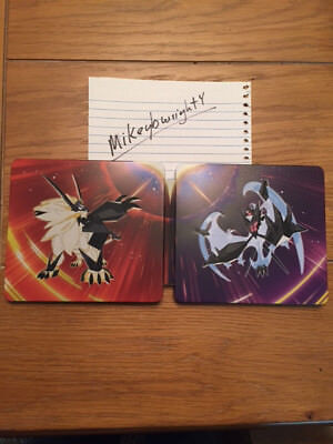 Pokemon Ultra Sun And Moon Steelbook Only   No Games Included
