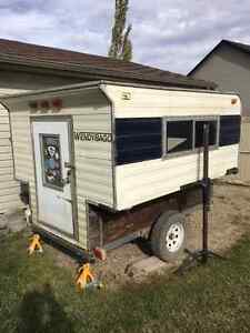 Camper to give away!!! Excellent Ice Fishing Shack!