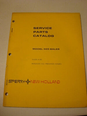 1977 New Holland Model 80 Bale Mover 85 Bale Handler Service catalog manual