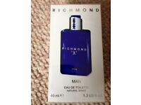 John Richmond X For Man Eau de Toilette for Men 40 ml BNIB