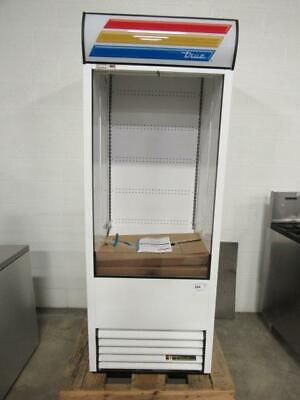New Never Used True Tac-30-ld 30 Vertical Open Air Cooler W 5 Levels 115v