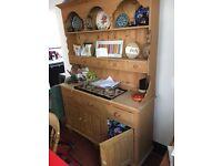 Pine dresser for dining room/kitchen