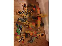 Nerf toy guns job lot