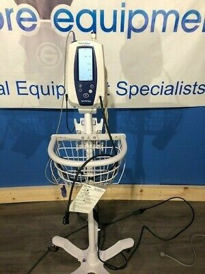 Welch Allyn Spot Monitor With Sp02temp Bpstandpower Pack Cables Shown