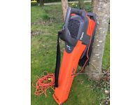Flymo gaden vac/blower;good condition; cash on collection