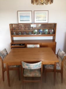 Teak China Cabinet in Langley.