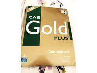 CAE Gold plus english coursebook