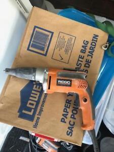 2 Rigid Drywall Screw Guns (Model: R 6000)
