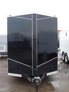 6X12 CARGO TRAILER WITH BLACKOUT PACKAGE