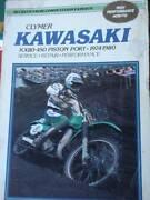 KAWSASAKI KX80-450 PISTON PORT MOTORCYCLES MANUAL 1974-80 Dianella Stirling Area Preview