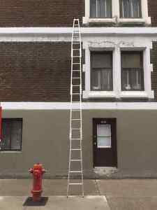 Echelles Lavage de vitres /  Sectional Ladder window cleaner