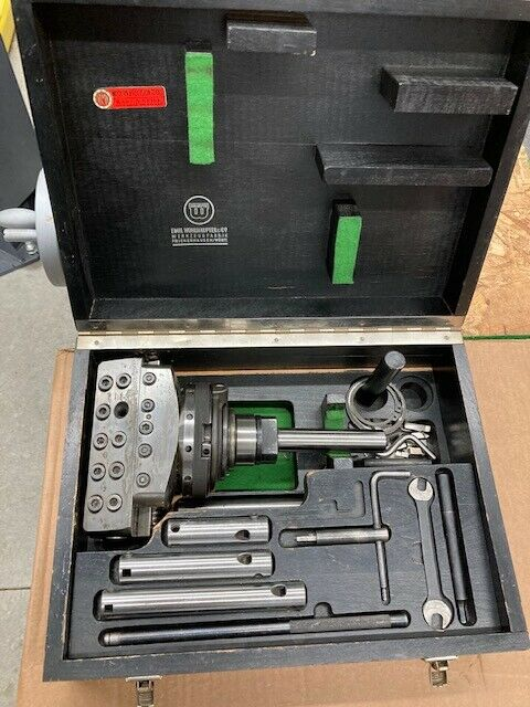 Wohlhaupter UPA5 s6 / 2102 boring head & accessories in case