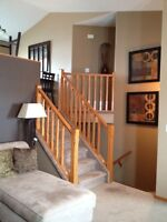 Beautiful furnished with, garage and yard! $1595 ADULT ONLY