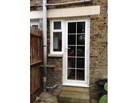 Double glazed UPVC door and door with separate side window