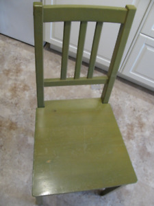 Set of 4 Ikea Wood Chairs - good and solid condition, cheap
