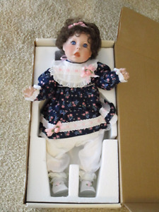 Lee Middleton Molly Rose Porcelain Doll Limited Edition