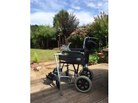 Wheelchair, Silver Blue Days Escape Lite