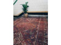 KARIMA - Antique Traditional Vintage Persian Wool 260 x 157CM Handmade Carpet Rugs
