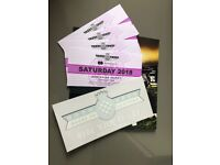 4 x Goodwood Festival of Speed Saturday General Entry Tickets