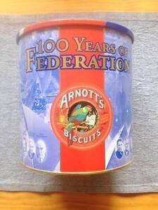 Arnotts Federation biscuit tin 2001 Mawson Lakes Salisbury Area Preview
