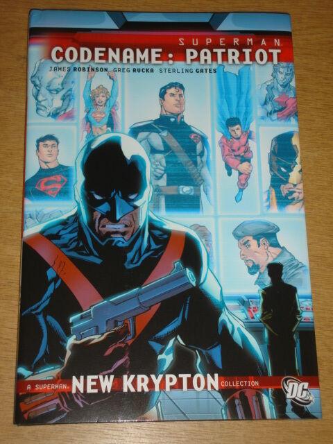 SUPERMAN CODENAME PATRIOT DC COMICS JAMES ROBINSON HARDBACK< 9781401226589