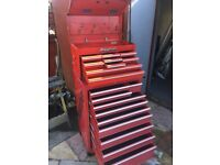 Snap On tool box 9 drawer top box & my 10 drawer roll cabinet