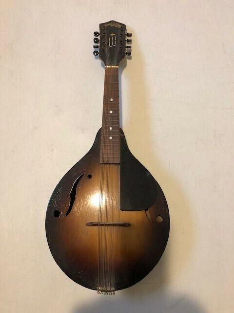 Vintage Stradolin Mandolin with Bell Brand tail piece