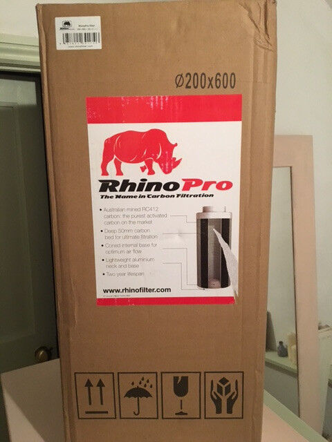 Rhino Pro carbon extraction filter