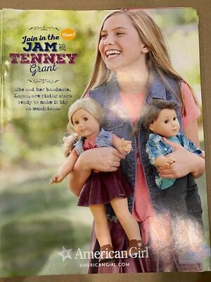 American Girl Tenney Grant Catalog March 2017 COLLECTIBLE - Girl Catalog