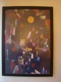 1mx50cm Klee Poster