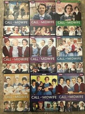 Call the Midwife: Series Seasons 1-9 DVD Set