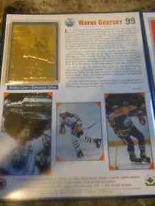 Wayne Gretzky Rookie & last card in GOLD! Belleville Belleville Area image 4