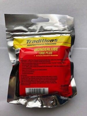 Traditions Cleaning Patches - Traditions WonderLube 1000 Plus* Cleaning Patches 2 1/2