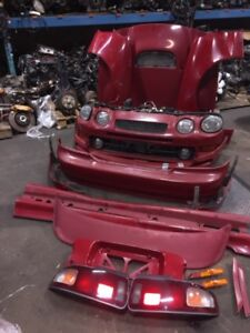 jdm toyota celica GT-4 st205 complet front ends, body parts