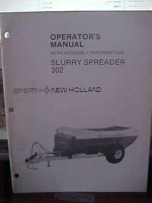 Om New Holland Slurry Spreader 302 1h