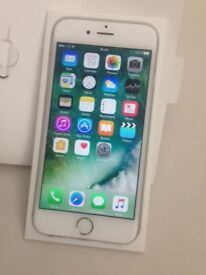 Good Condition iPhone 6 Silver 64GB Network Free.